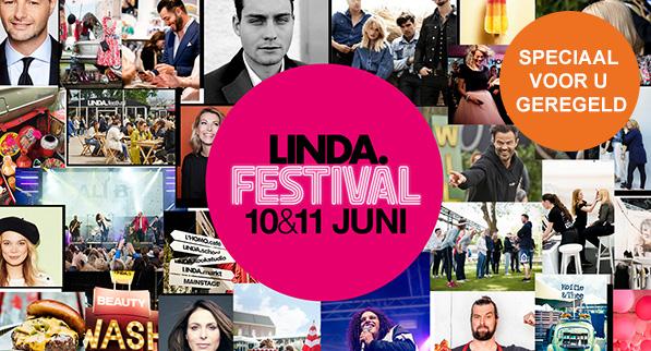 Korting op tickets voor LINDA.festival