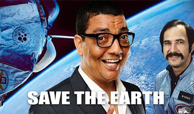 Gratis CD bij de theatershow Save the Earth