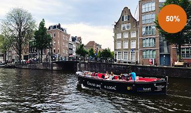 Cruise Like a Local door Amsterdamse grachten