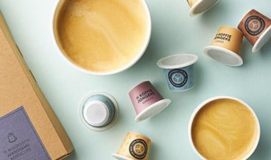 Korting op cups van de Koffiejongens