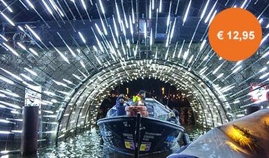 Reguliere boattour Amsterdam Light Festival (75 min)