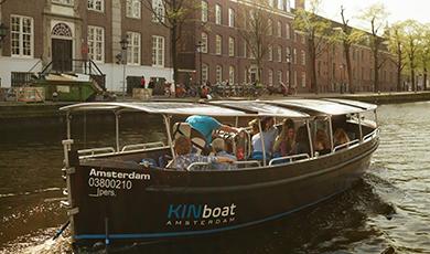 Vaar nu muisstil en 100% duurzaam door de Amsterdamse grachten