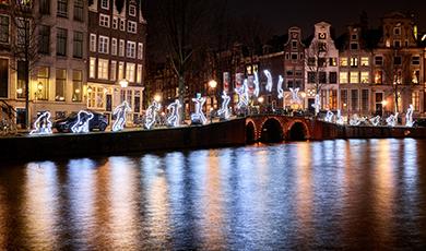 Amsterdam Light Festival met Nuon