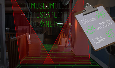 Museum Escape Online met 25% korting
